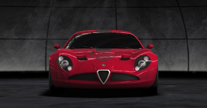 Illustration for article titled Zagato Alfa Romeo TZ3
