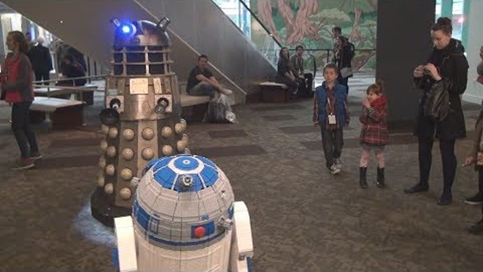 Behold the world's first full-size, functional Lego R2-D2