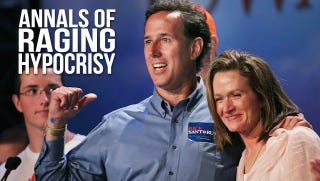 Illustration for article titled Rick Santorum's Anti-Abortion Politics Would Have Killed His Own Wife [Updated]