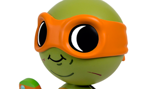 Illustration for article titled Lil' Mikey is the most adorable Ninja Turtle in the world