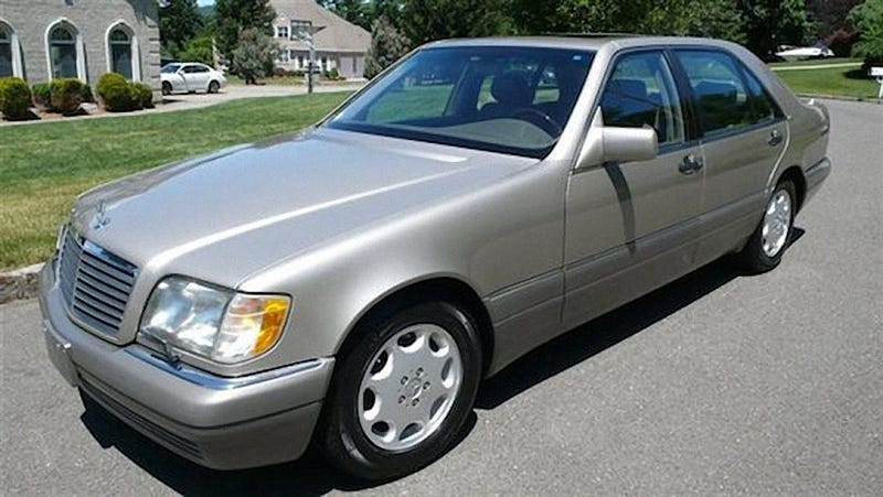 mercedes w140 s600 review