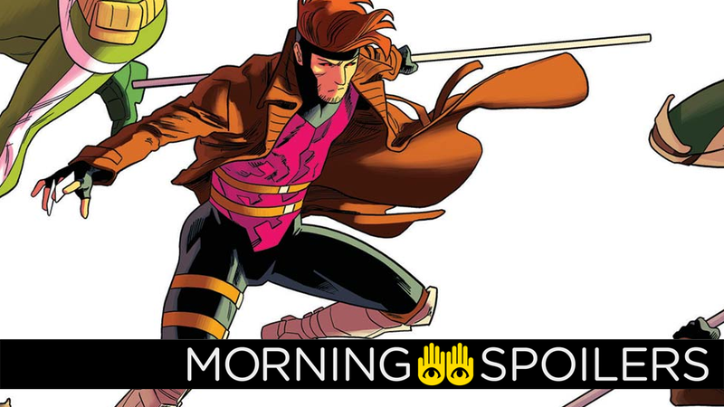 Channing Tatum could be the last person left standing who believes the Gambit movie will still happen.