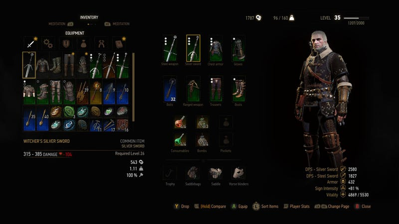 Witcher  First Crafting