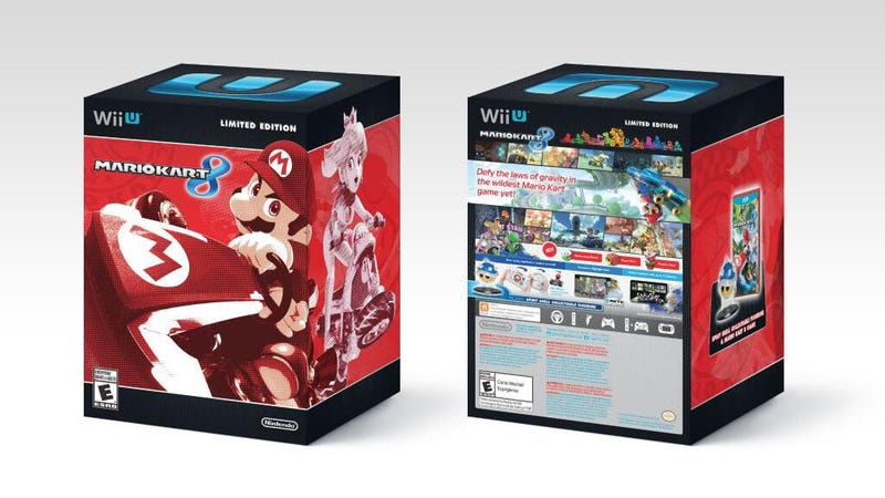 Illustration for article titled Limited Edition Mario Kart 8 Blue Shell Bundle Announced for US*