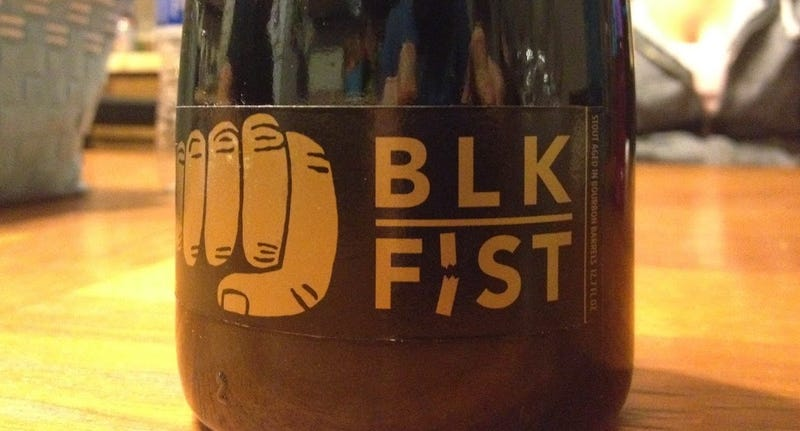 Illustration for article titled If ABV% was a race, Mikkeller's Black Fist would be a marathon.