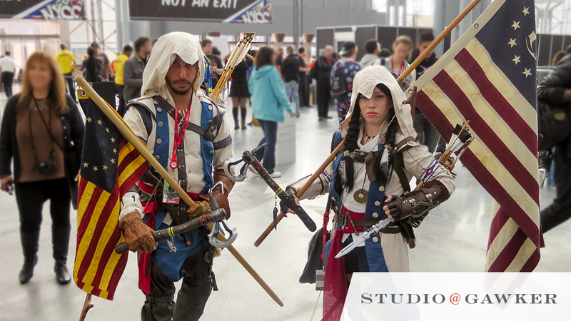 Illustration for article titled Relive NYCC '13 Weekend with These Amazing Fan Photos