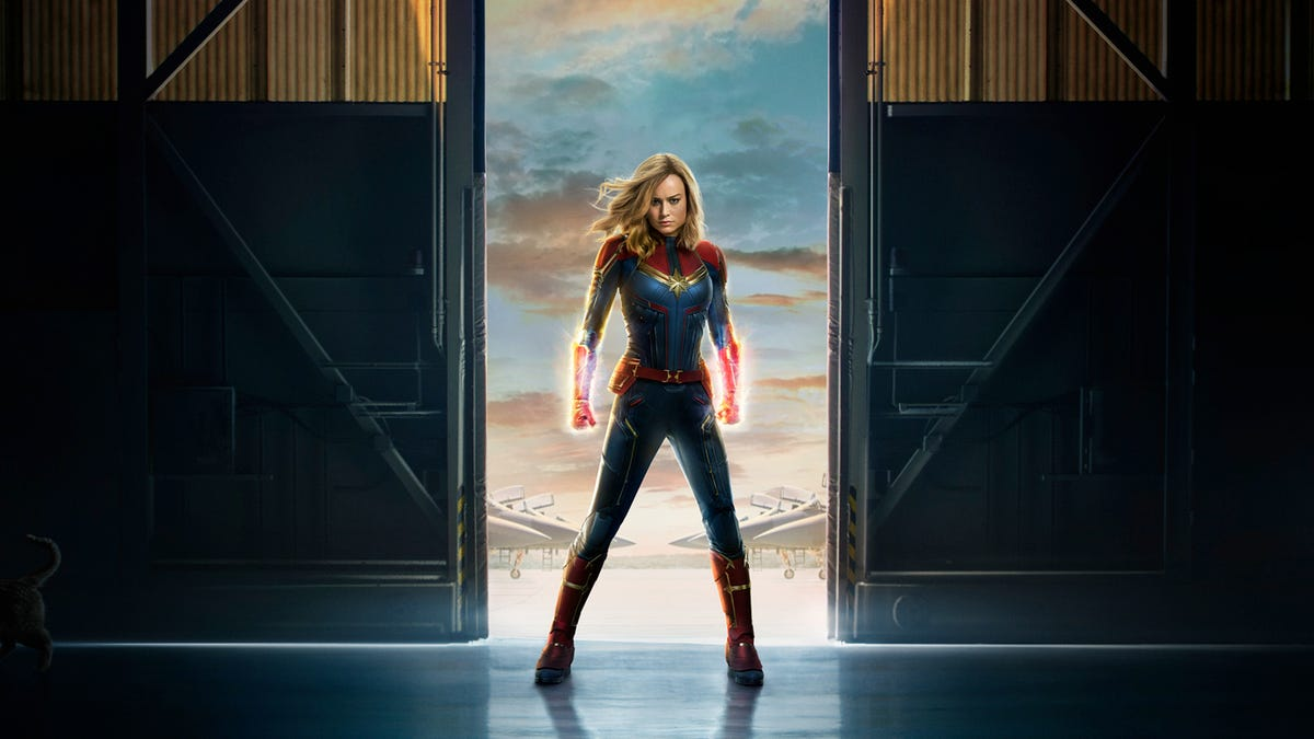 gizmodo.com - Beth Elderkin - Captain Marvel To Appear at Disney's California Adventure