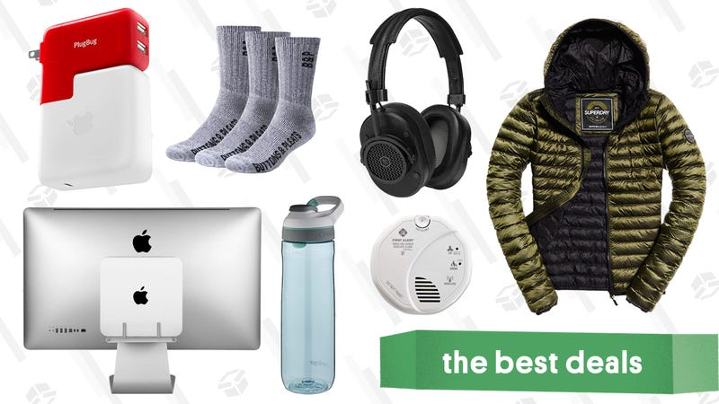 Illustration for article titled Monday's Best Deals: Compact Jump Starter, Soylent, Fitbit Smart Scale, and More
