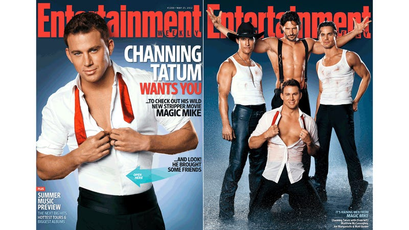 Illustration for article titled Channing Tatum Chaperoned Matthew McConaughey's First Trip to a Male Strip Show