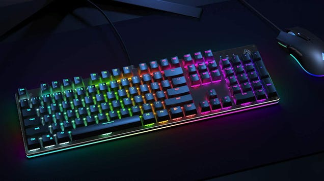 Grab Aukey s Mechanical Keyboard for $40 and Enter the World of the Clack