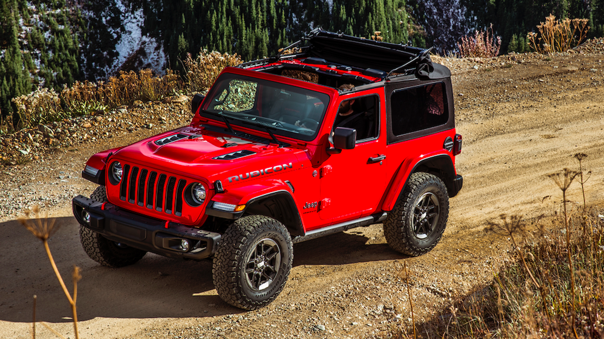 Your Guide To Taking The Doors And More Off The 2018 Jeep Wrangler