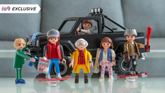 Playmobil s Back to the Future Toys Are Getting the Coolest  80s Pickup Truck (and Hoverboards)