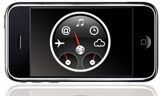 Illustration for article titled iPhone Dashboard Widgets Imminent?