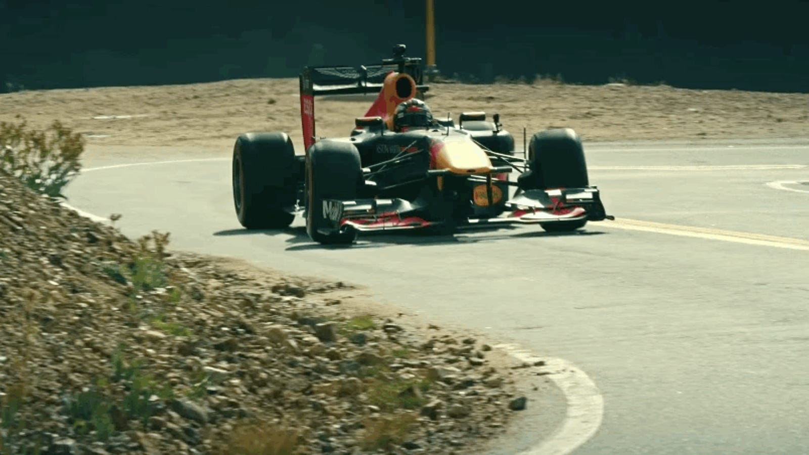 Max Verstappen's F1 Car Road Trip Across America Is Going Great