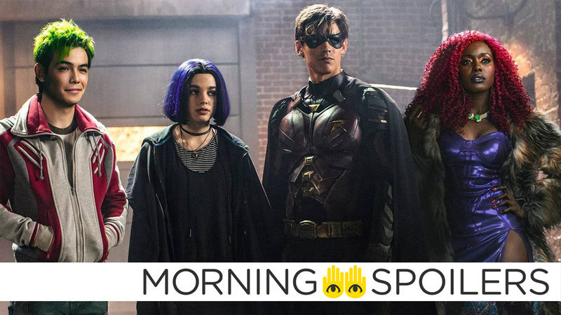 The latest take on the Teen Titans is getting some familiar costume updates.