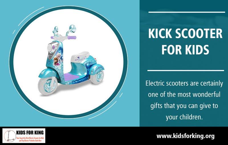 Illustration for article titled Kick Scooter for Kids | kidsforking.org