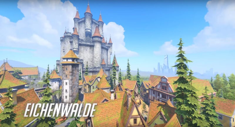 Illustration for article titled Blizzard Reveals New Overwatch Map, Eichenwalde