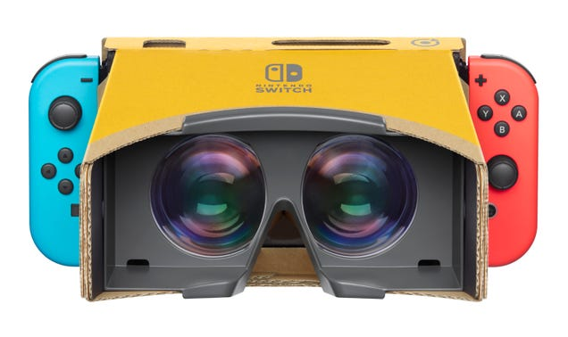 Nintendo Does VR Now, Again