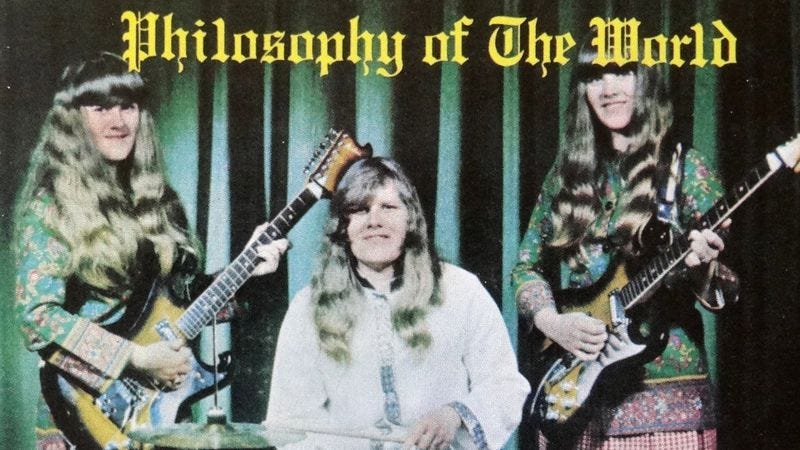 Illustration for article titled Ultra-rare live footage of outsider rockers The Shaggs unearthed