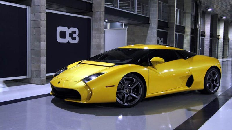 Zagato Built Another One Of Those Weird Lamborghinis For Some Reason