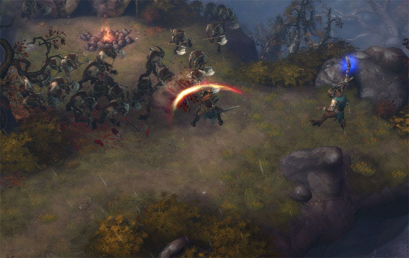 Illustration for article titled Diablo III Impressions: Hands On With The Barbarian