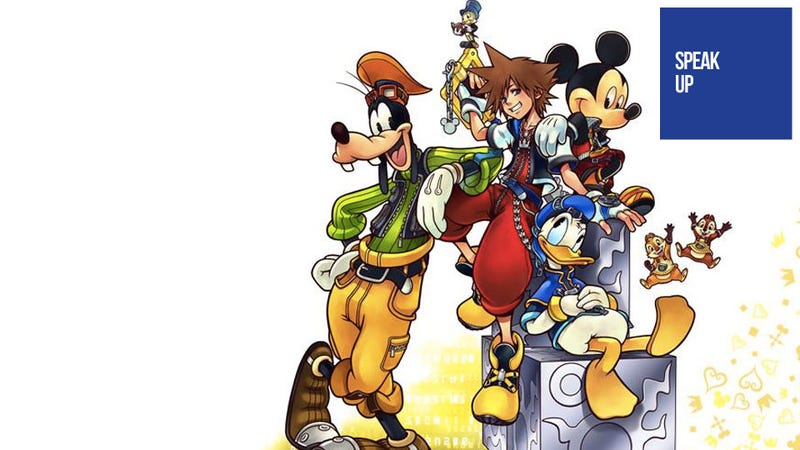 Illustration for article titled Should the Kingdom Hearts Games That Suck Still Count?