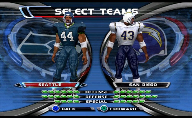 Illustration for article titled Fan Updates 2002 GameCube NFL Game With 2015 Rosters