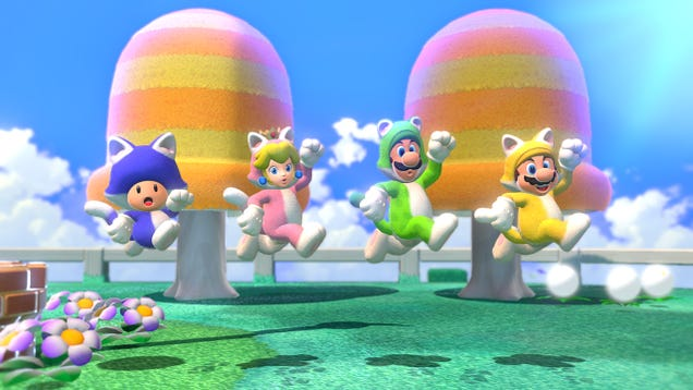 Wear a Fursuit With Your Friends in Super Mario 3D World + Bowser's Fury, Now Available for Pre-Order