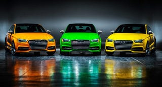 Illustration for article titled Audi Will Charge An Extra $18,000 To Have Your S3 Look Like A Skittle