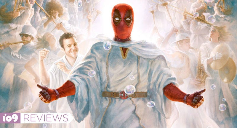 Part of the new poster for Once Upon a Deadpool.