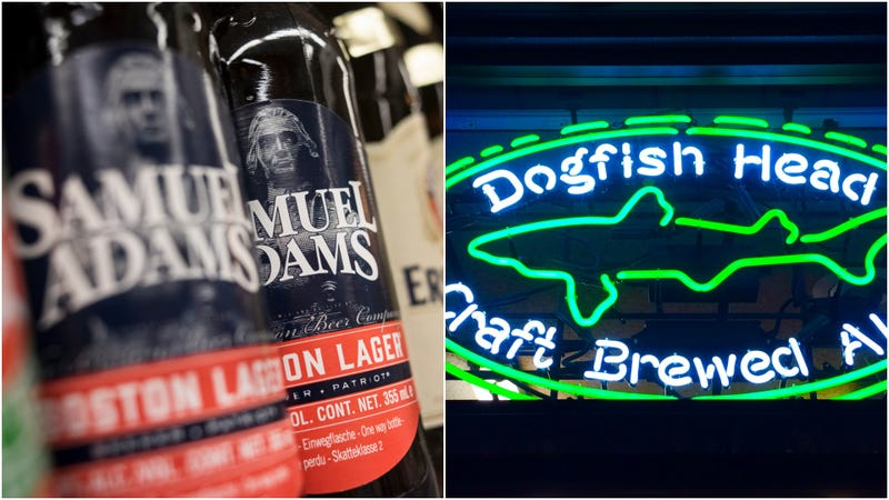 Illustration for article titled 2 craft beer pioneers combine forces: Dogfish Head sells to Boston Beer Company