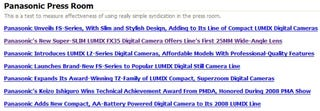 Illustration for article titled Panasonic Scoops Themselves on PMA Digital Camera Lineup