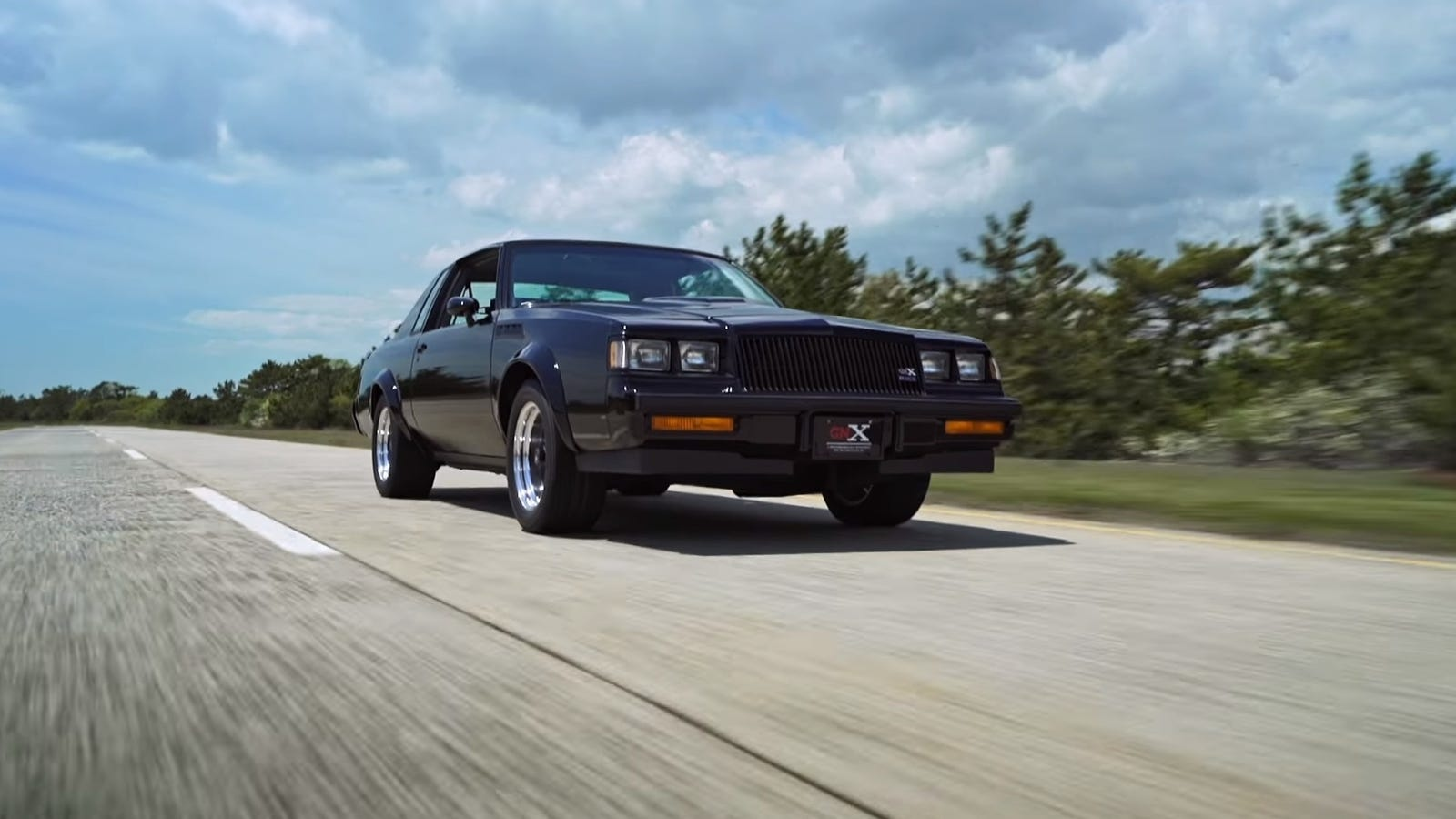The Buick GNX Was The Raddest Muscle Car Of The \'80s