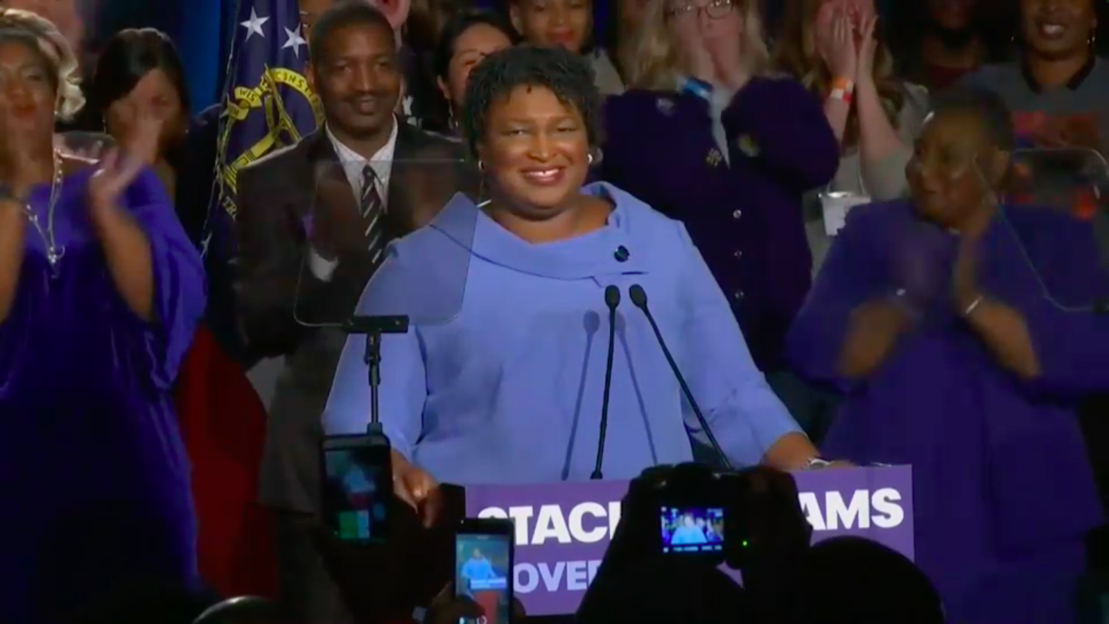 Stacey Abrams Isn't Conceding a Doggone Thing
