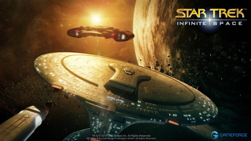 Illustration for article titled A Look At Free-To-Play Star Trek - Infinite Space in Action
