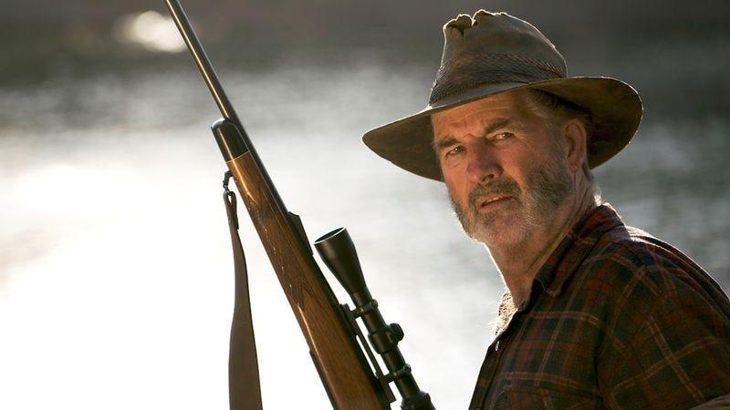 John Jarratt as Mick Taylor in Wolf Creek (Credit: Pop TV)