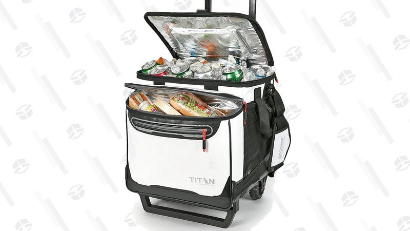 Arctic Zone Titan Rolling 60 Can Cooler | $44 | Amazon