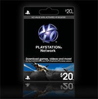 Illustration for article titled Sony Dishes The PSN Pre-Paid Card Release Info