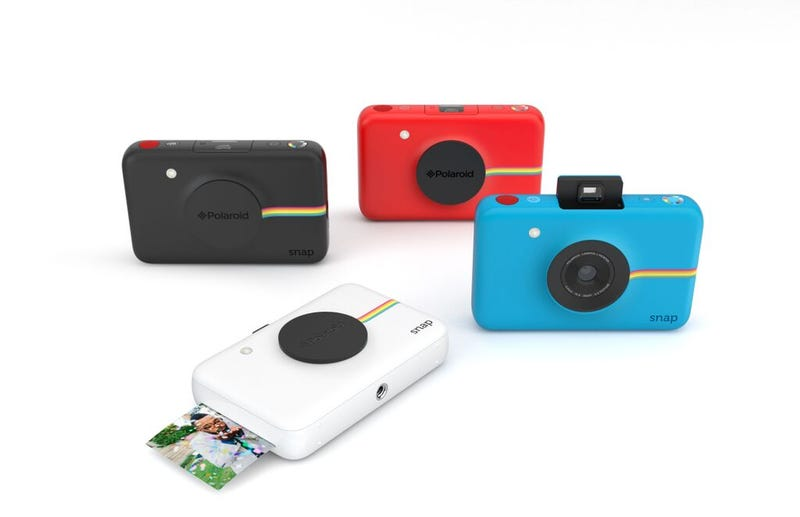 Illustration for article titled The Snap Is a Polaroid-Branded Camera That Prints Out Real Pictures