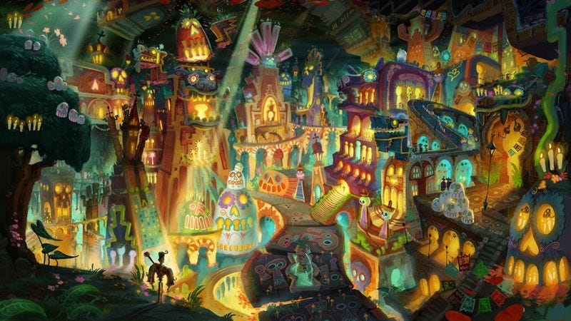 Illustration for article titled Guillermo Del Toro presents The Book Of Life, a dull tale told beautifully