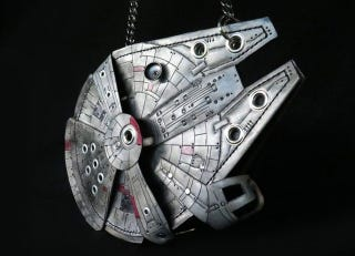 Illustration for article titled This Glowing Millennium Falcon Purse Is the DIY Project You Were Looking For