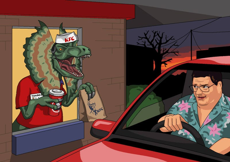 Illustration for article titled Just your luck, Dennis Nedry