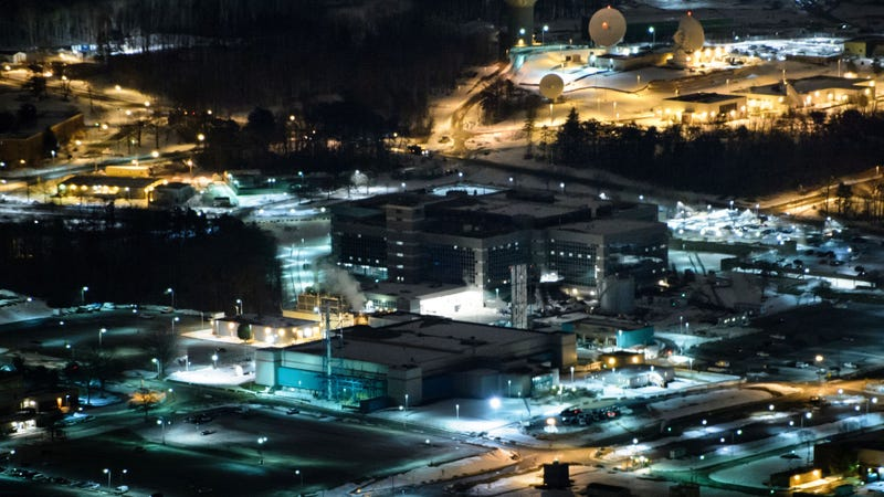Sede de la Agencia de Seguridad Nacional (NSA) del Gobierno de Estados Unidos