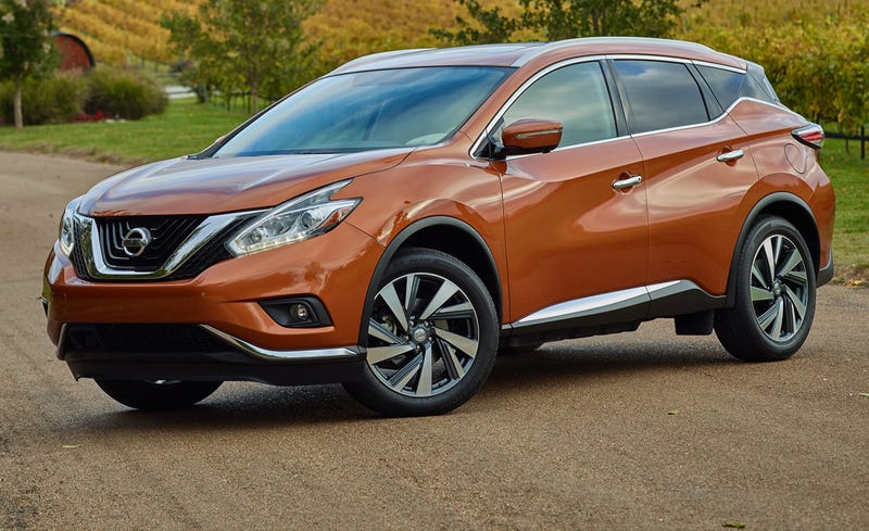 Illustration for article titled I think the new Murano is a damn fine looking SUV.