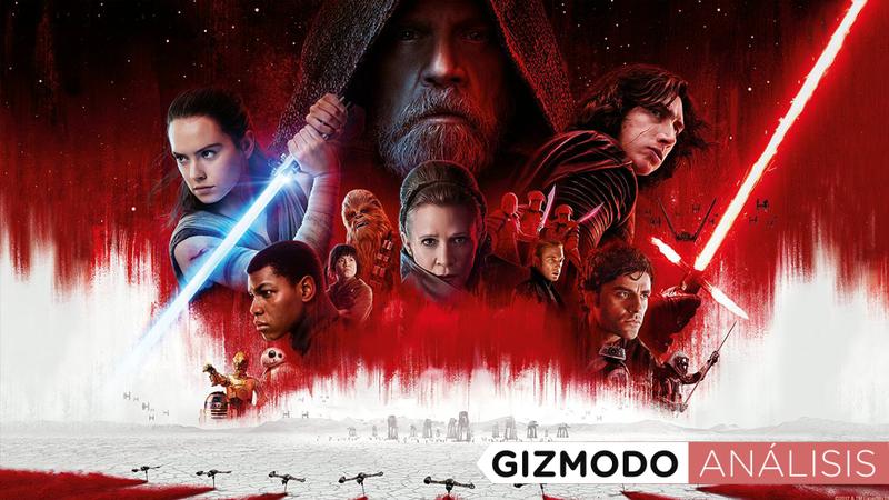 Illustration for article titled The Last Jedi es diferente y espectacular, la película de Star Wars que esperabas, como nunca la has visto