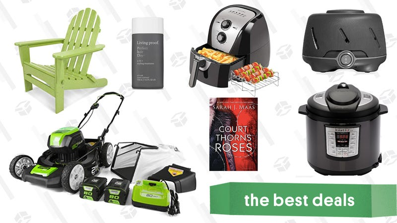 Sunday's Best Deals: Instant Pot, GreenWorks Gold Box, an Air Fryer, and More