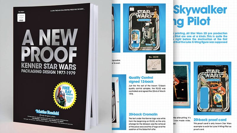 Illustration for article titled A New Book Looks At the Packaging Design of the Original Star Wars Toys