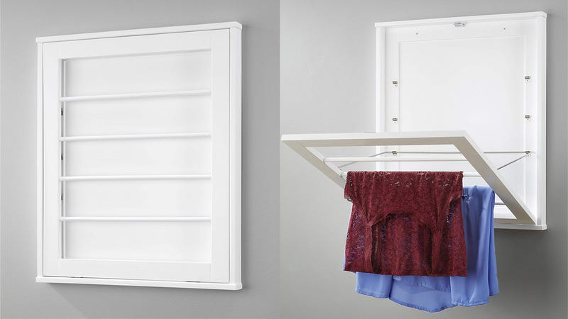 Whitmore Wall Mounted Drying Rack | $74 | Amazon | Choose Free No Rush Shipping at checkout