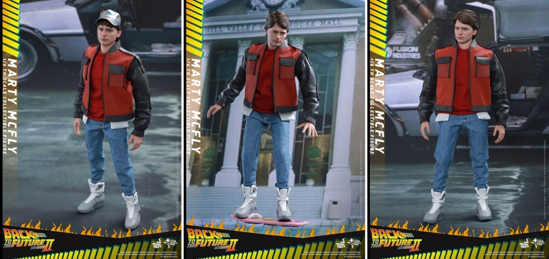 Illustration for article titled The New BTTF II Marty Figure Is the Cheapest Way to Get Nike's Futuristic Sneakers