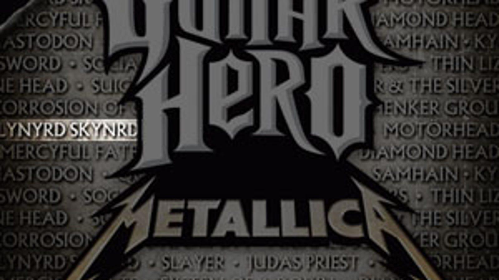 Guitar Hero: Metallica Misspells Band Name